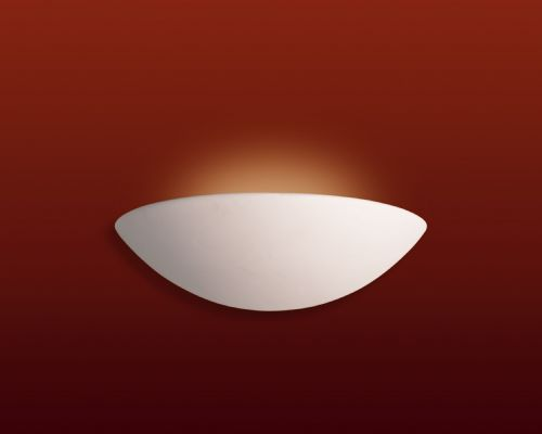 Firstlight C309UN Unglazed Ceramic Wall Light - 18w PLC